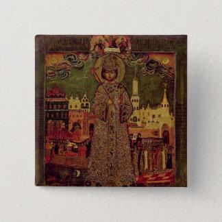 Tsarevitch Dmitry Ivanovich 15 Cm Square Badge