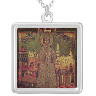 Tsarevitch Dmitry Ivanovich Silver Plated Necklace