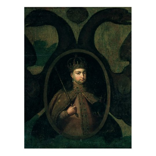 Tsarevna Sophia Alexeevna,  1680s Postcard