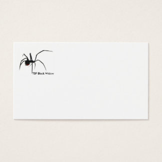 TSF Black Widow Business Cards