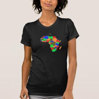 Tshirt Africa coloré