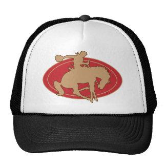 TSHIRT BRONC RIDER MESH HATS