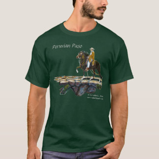Tshirt, Dark shirts only, Peruvian Mountain Trail