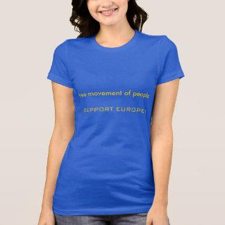 Tshirt - free movement of people EU