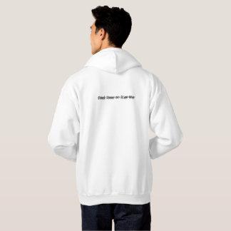 Tshirt hood 'Feel Free to KIS me'