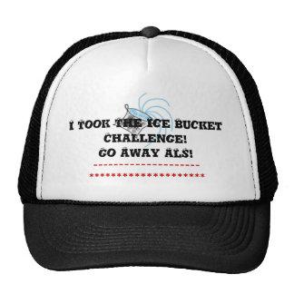 TShirt I Did The Challenge Go Away ALS Cap