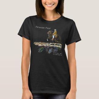 Tshirt,  Peruvian Paso, Crazy Horse Lady T-Shirt