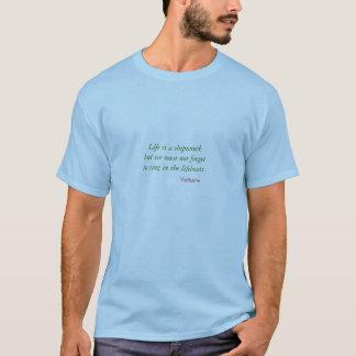 Tshirt - shipwreck singing