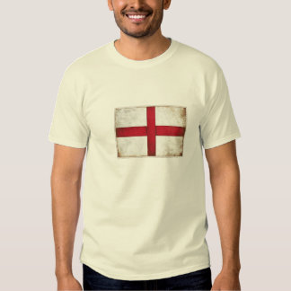 Tshirt with Old Style English Flag