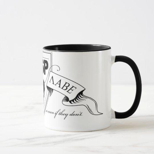 TSP Ant Logo Ringer Mug