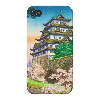 Tsuchiya Koitsu Nagoya Castle shin hanga scenery Cases For iPhone 4