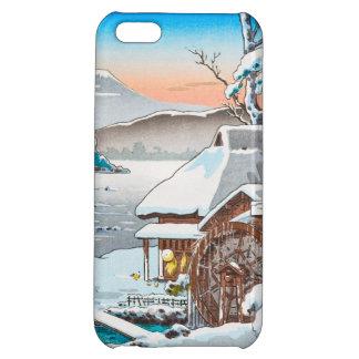 tsuchiya koitsu tokaido yaizunohara winter scenery case for iPhone 5C