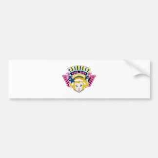 TSUNAGI - Russia Bumper Sticker