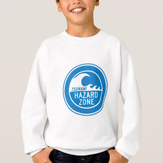 TSUNAMI HAZARD ZONE SWEATSHIRT