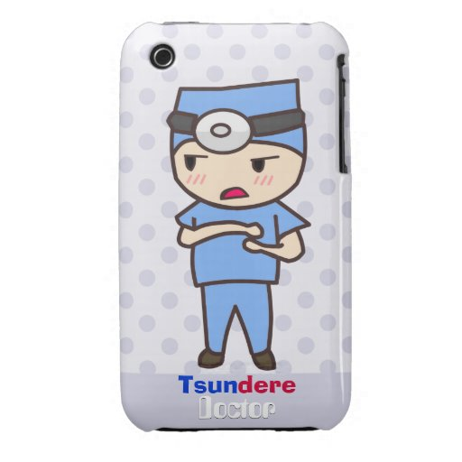 Tsundere Doctor iPhone 3 Case-Mate Case