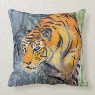 Tsuyako Tiger Throw Pillow Cushion