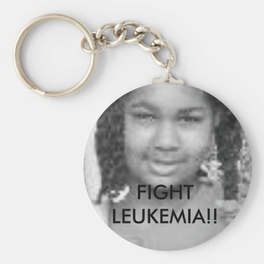 tt FIGHT LEUKEMIA - Customised - Customised Key Ring
