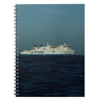 TT Line Ferry Note Books