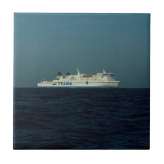 TT Line Ferry Small Square Tile