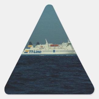TT Line Ferry Triangle Sticker