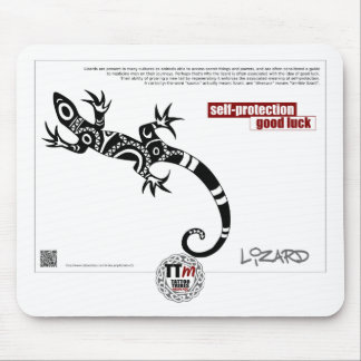 TT Meanings - LIZARD Mouse Mat