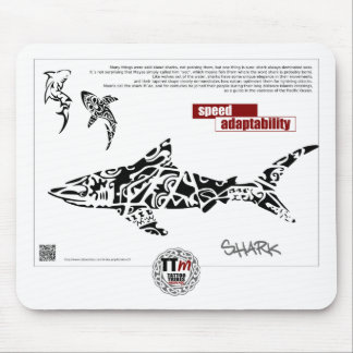 TT Meanings - SHARK Mouse Mat
