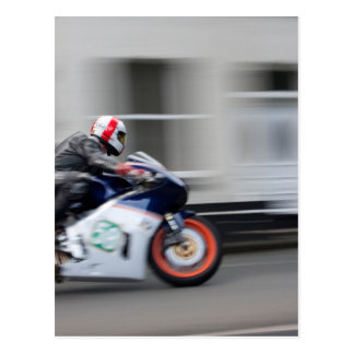 TT Racer Post Card