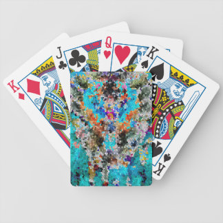 TTEQOTGCubismINV SGDRKDP BLUE Bicycle Playing Cards