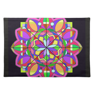 tThe Stained Glass Design. Placemats