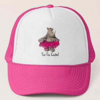 Tu-Tu Cute Rhino Ballerina Hat