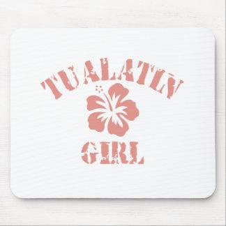 Tualatin Pink Girl Mouse Pad