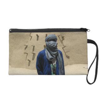 Tuareg in Timbuktu, Mali, West Africa Wristlet Purse