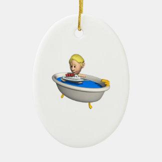 Tub Boats Ornament