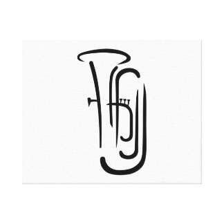Tuba Canvas Prints
