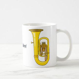 Tuba Classic White Coffee Mug