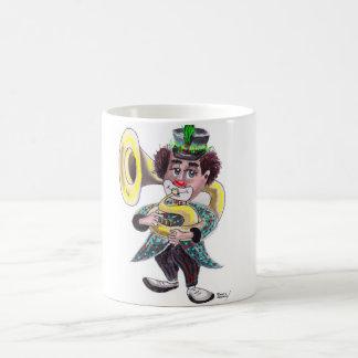 Tuba Clown Classic White Coffee Mug