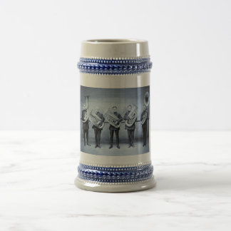 Tuba Cops Beer Steins