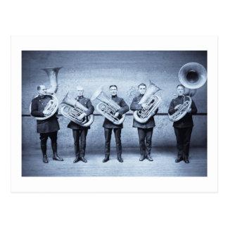Tuba Cops Postcard