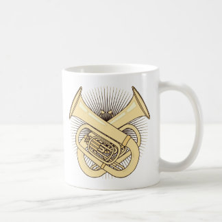 Tuba Crossbones Mugs