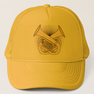 Tuba Crossbones Trucker Hat