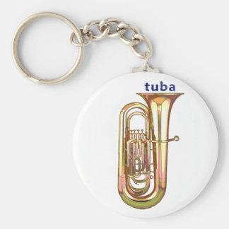 Tuba Key Ring