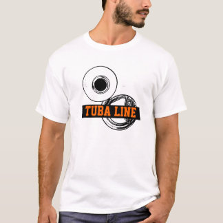 Tuba Line T-shirt