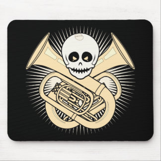 Tuba Pirate Mouse Mat