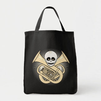 Tuba Pirate Tote Bag