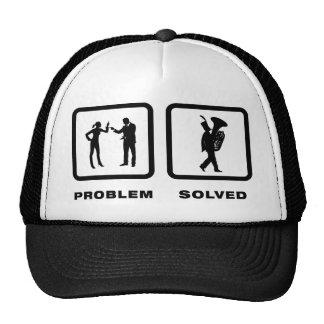 Tuba Player Trucker Hats