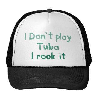 Tuba Rock It Hat