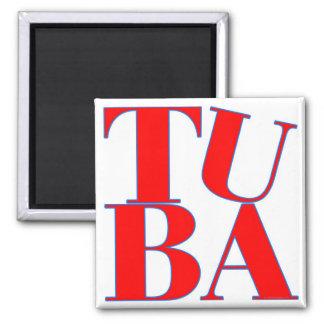 TUBA SQUARE MAGNET