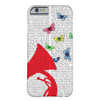 Tuba with Butterflies Barely There iPhone 6 Case