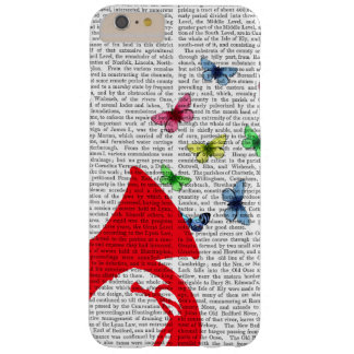Tuba with Butterflies Barely There iPhone 6 Plus Case