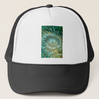 Tube Worm Trucker Hat